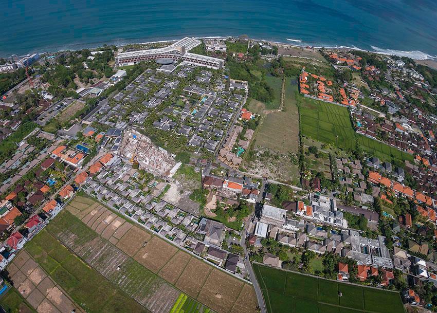 Aerial Seminyak Bali