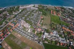 Aerial Seminyak Bali 2013
